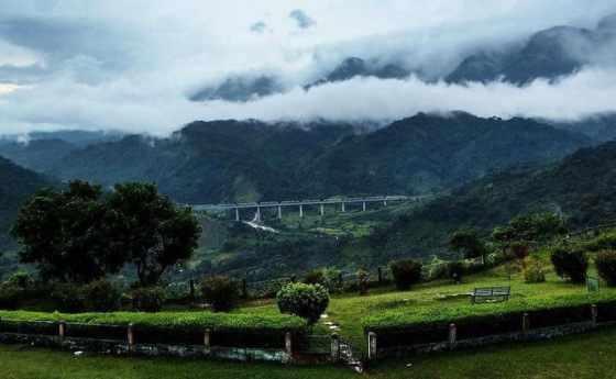 Beautiful view of Haflong, North East India, Namaste India