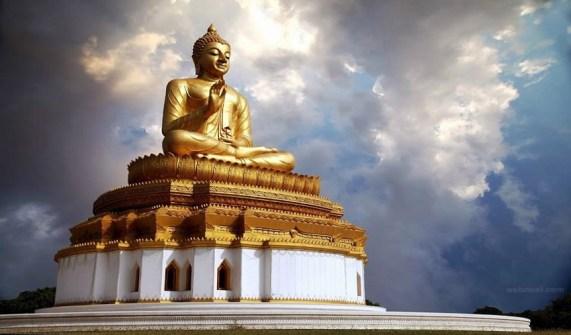 Buddha Statue at Sravasti, Buddhist
