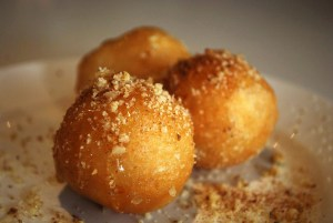 Loukoumades - Nikos Cakes AUD4 for 3 | by avlxyz, Flikr, Greek cuisine