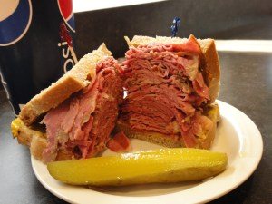 La Belle Patate - Montreal Smoked Meat Sandwich, street food Canada
