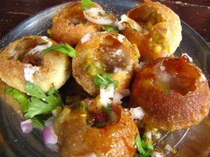 Pani Puri- street food Nepal