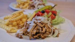 Gyros, street food USA