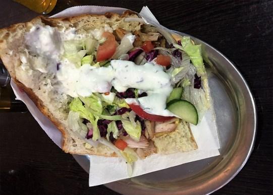 Döner Kebab, German street food
