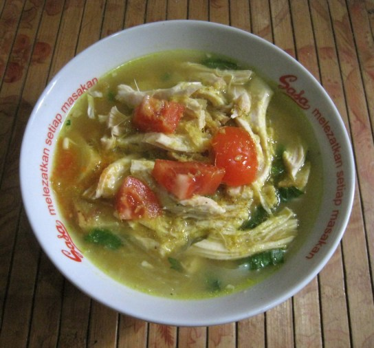 oto Ayam, street food Indonesia