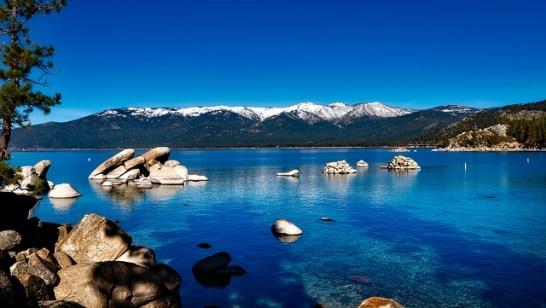 Lake tahoe, California cities