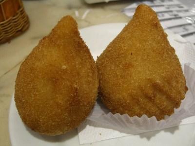 Coxinhas- street food Brazil
