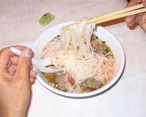 Pho Vietnamese street food