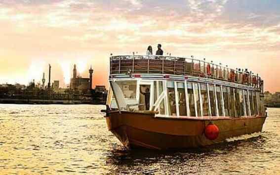 Dhow cruise, Dubai Marina