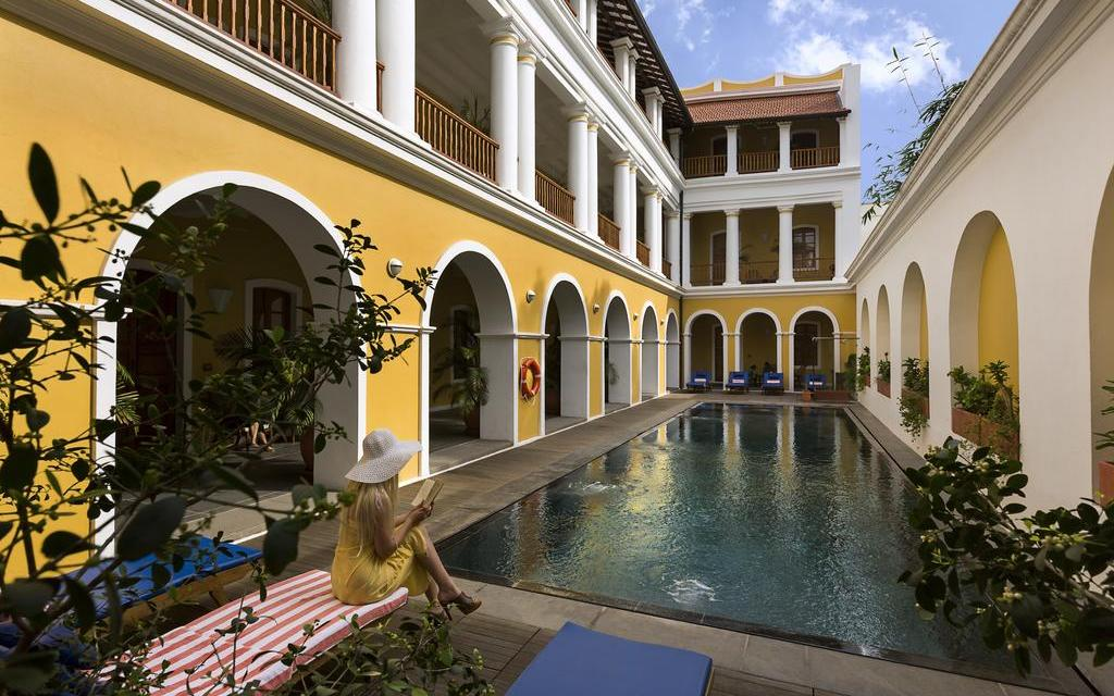Accommodations and restaurants in Pondicherry
