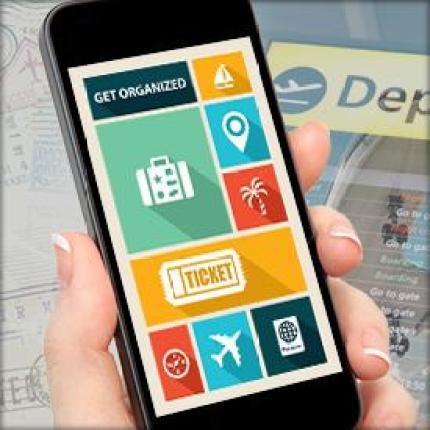 Geolocation tracking, travel app