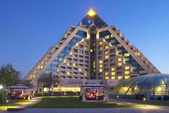 Raffles, romantic Dubai
