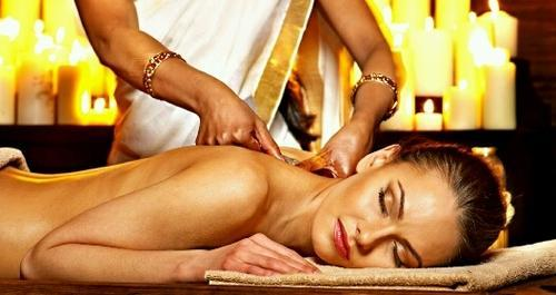 Ayurveda massage in Kerala