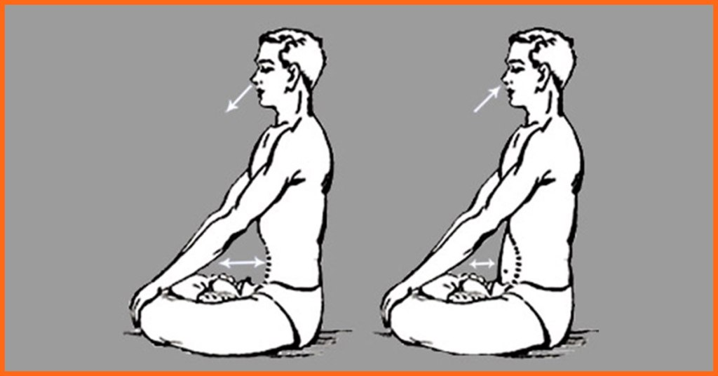 Kapalbhati pranayama in yoga