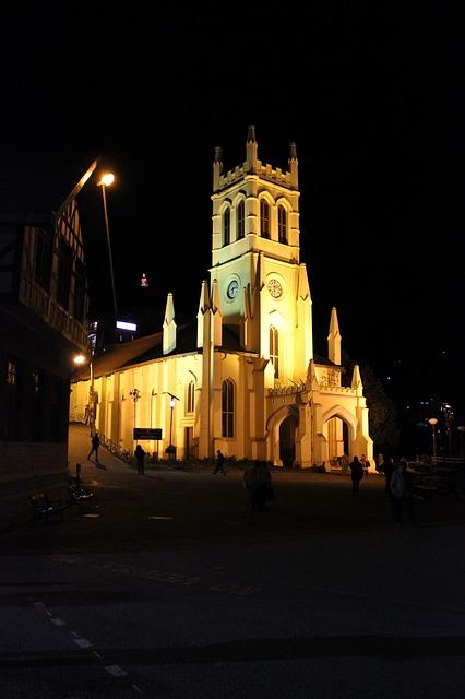 Christ church - Shimla Image by Jeevan Singla from Pixabay