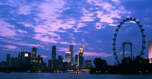 Singapore flyer, best places in Singapore