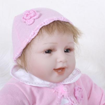 "22"" Chubby-faced Realistic Reborn Baby Girl"