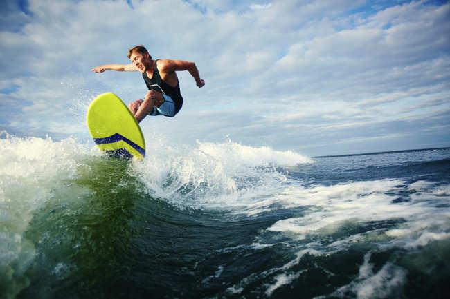 Pondicherry surfing
