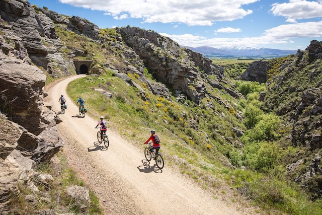 Cycling in Central Otago