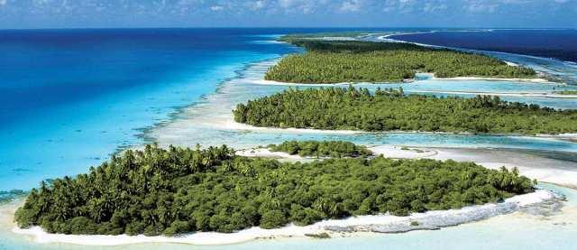 atolls of french-polynesia