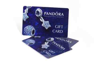 Retail Gift Card Printing