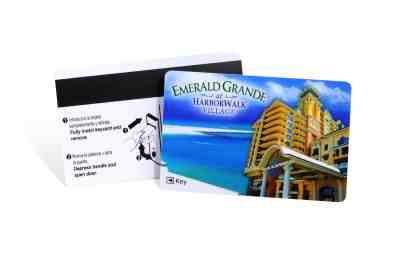 Emerald Grande Plastic Hotel Key Card