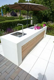 53 gorgeous outdoor kitchen cabinets 22