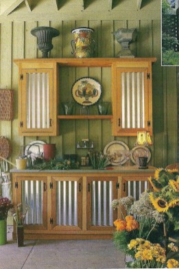 53 gorgeous outdoor kitchen cabinets 27