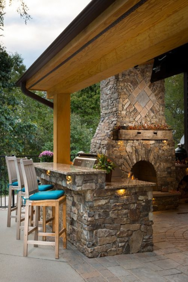 53 gorgeous outdoor kitchen cabinets 43