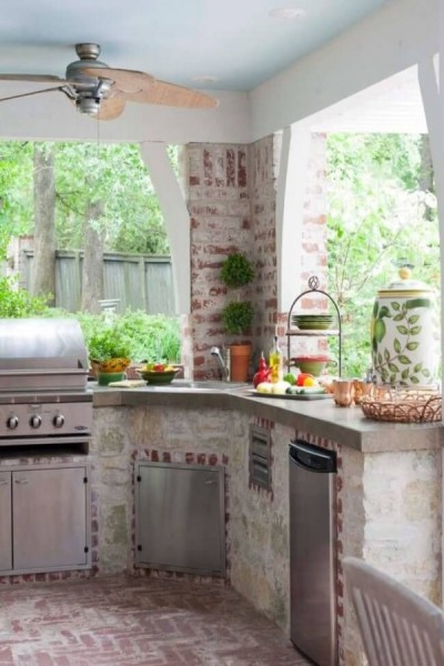 53 gorgeous outdoor kitchen cabinets 48