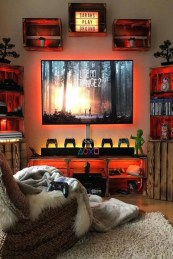 73 Most Popular Video Game Room Furniture Decor-896