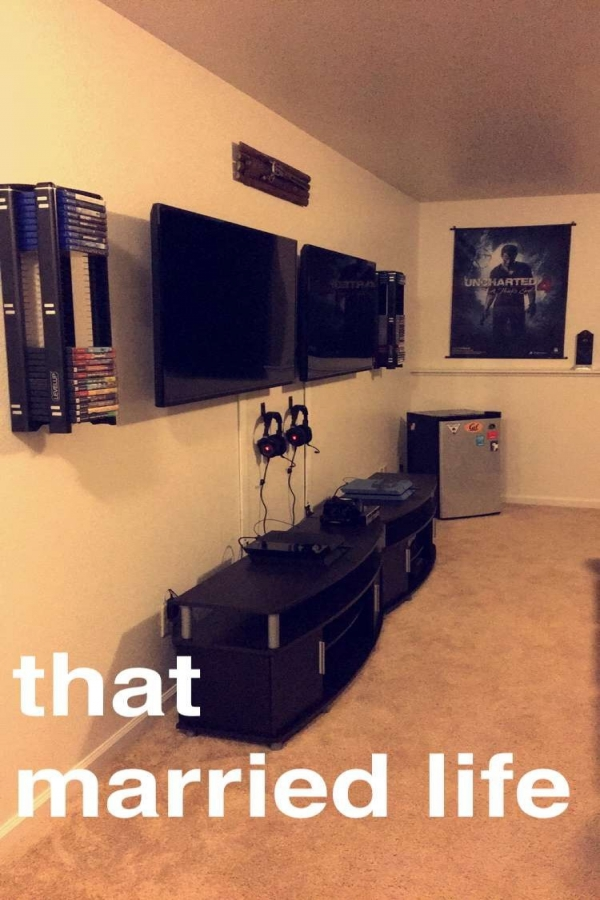 73 Most Popular Video Game Room Furniture Decor-908
