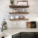 35 Kitchen Shelves Ideas That Make Your Kitchen Look Neat Tips On How To Choose The Right Unit 18