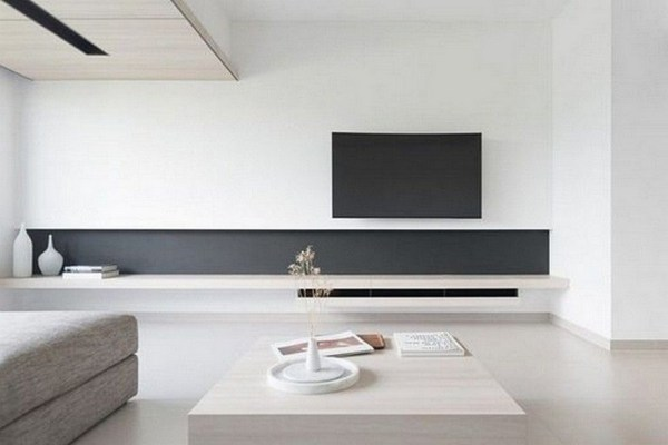 38 Most Popular Modern Living Room Decoration Ideas That Look Comfortable 16