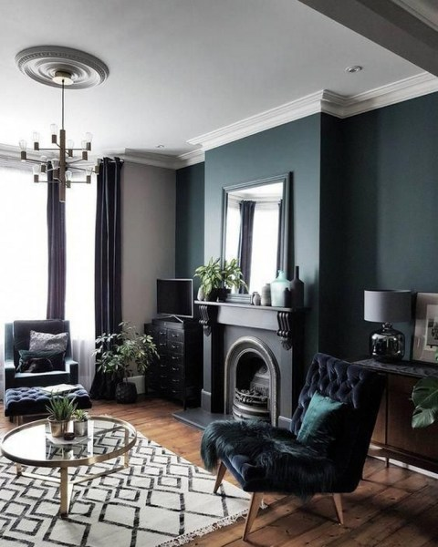 38 Most Popular Modern Living Room Decoration Ideas That Look Comfortable 17