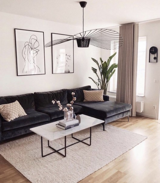 38 Most Popular Modern Living Room Decoration Ideas That Look Comfortable 33