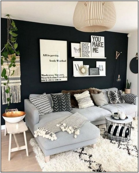 40 Inspiration Ideas Of The Most Popular Modern Living Room Ideas With Easy Tips To Redecorate Your Living Room 5