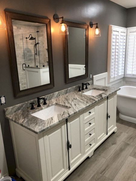 47 Best Master Bathroom Remodeling On A Budget Ideas 35