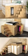 55 Model Bedroom Furniture Design Ideas For Small Functional Spaces 03