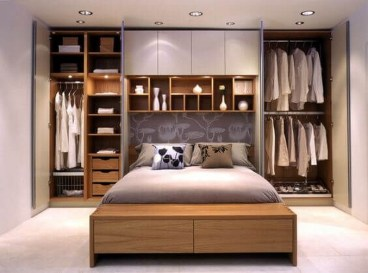 55 Model Bedroom Furniture Design Ideas For Small Functional Spaces 05