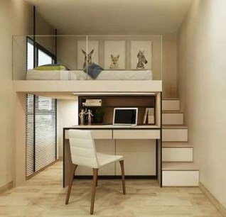 55 Model Bedroom Furniture Design Ideas For Small Functional Spaces 11
