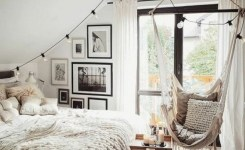 55 Model Bedroom Furniture Design Ideas For Small Functional Spaces 13