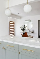 72 Beautiful Kitchen Countertop Ideas with White Cabinets Look Luxurious 2211