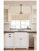 72 Beautiful Kitchen Countertop Ideas with White Cabinets Look Luxurious 2214