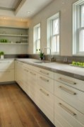 72 Beautiful Kitchen Countertop Ideas with White Cabinets Look Luxurious 2226