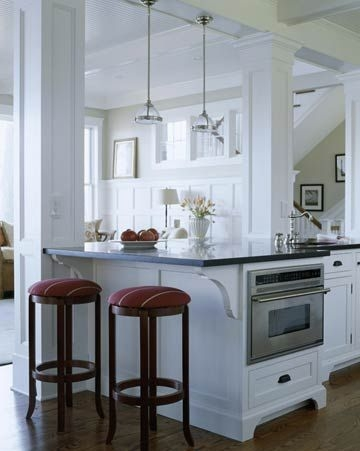 72 Beautiful Kitchen Countertop Ideas with White Cabinets Look Luxurious 2238