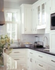 72 Beautiful Kitchen Countertop Ideas with White Cabinets Look Luxurious 2248