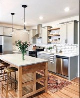 83 Grey Kitchen Wood island - Tips to Designing It Look Luxurious 2419