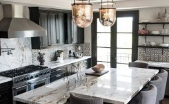83 Grey Kitchen Wood Island Tips To Designing It Look Luxurious 29