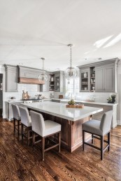 83 Grey Kitchen Wood island - Tips to Designing It Look Luxurious 2400