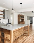 83 Grey Kitchen Wood island - Tips to Designing It Look Luxurious 2431